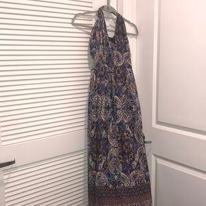 INC paisley print maxi dress